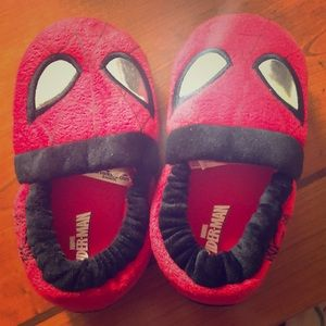 Other - Adorable little Spider-Man slippers - barely worn